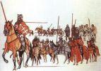Polscy wojsko. Ilustracja z książki Grunwald 1410