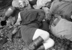 Polacy zamordowani przez ludobójców z OUN-UPA dnia 16.06.1944 r. Las przy torze kolejowym.