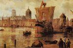 Port gdański w okresie średniowiecza.