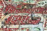 Stare Miasto Królewiec i Knipawa na rysunku z 1851r.