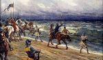 Czesi nad Bałtykiem 1433r. Autor Adolf Liebscher