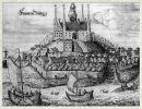 Frombork, rysunek z 1684r. autor Ch.Hartknoch