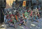 W wojnie trzynastoletniej główną siłę bojową wszystkich armii stanowili zaciężni, których koszty utrzymania były ogromne. Z takich zawodowych żołnierzy miał też biskup Legendorf, który w swoich siłach zbrojnych wykorzystywał również uzbrojonych mieszczan i chłopów.