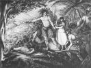 Akwarela Gustawa von Tempsky: Maoryska zasadzka w Wanganui