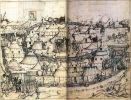 28 tabor warowny na widoku z ok. 1480 roku, Jan Biały po wkroczeniu na Warmię założył warowny obóz pod Tomaszkowem, gdzie przebywał przez kilkanaście dni w oczekiwaniu na Krzyżaków. W dalszym ciągu kampanii zbudowano jeszcze kilka podobnych obozów, w tym w Smolajnach. Stanowiły one bazy wypadowe dla polskiej jazdy nękającej nie bronione tereny Warmii.