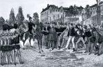 Kapitulacja twierdzy Rastatt  przed wojskami pruskimi 23.07.1849