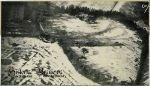 zdjęcie wykonane w dniu 15.02.1945 r. z samolotu szturmowego Ił-2 należącego do 136 Gwardyjskiego Pułku Lotnictwa Szturmowego (136GSzAP) podczas ataku w rejonie Pieniężna.  Działania 6 Ił-2 dowodzonych przez mjra Kozenkowa na zamaskowane samochody niemieckie. Z prawej strony fragment budynku dzisiejszego Seminarium Misyjnego