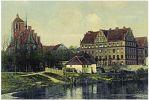 pocztówka z seminarium nauczycielskim z okresu 1900-1910r.