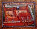 obraz Zygmunta Walczaka według autora przedstawiający obronę załogi Jana Skalskiego przed Krzyżakami w 1454r. Otóż coś takiego nie miało miejsca Krzyżacy pojawili się pod Braniewem w grudniu 1454 i w lutym 1455, natomiast Jan Skalski przybył do miasta 1 .07.1455r. Innych prób zdobycia miasta przez Krzyżaków nie było. Natomiast obraz jest cennym dziełem ukazującym walki w Braniewie w okresie wojny trzynastoletniej.